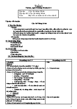 Giáo án Toán lớp 3 - Tuần 1 năm 2014