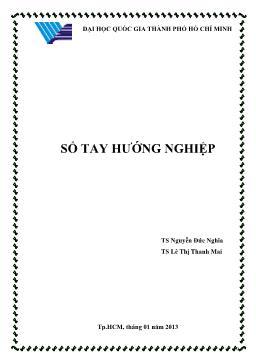Sổ tay hướng nghiệp - Nguyễn Đức Nghĩa