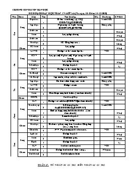 Giáo án Lớp 5 - Tuần 17 - Trường TH Nguyễn Bá Ngọc